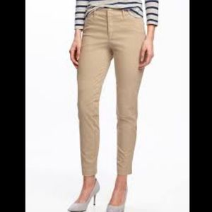 Old Navy Pants - Yellow ochre pixie pants